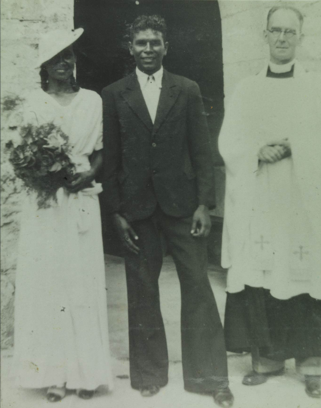 Moore River Native Settlement marriage of Glasys Gilligan and Artur Prosser