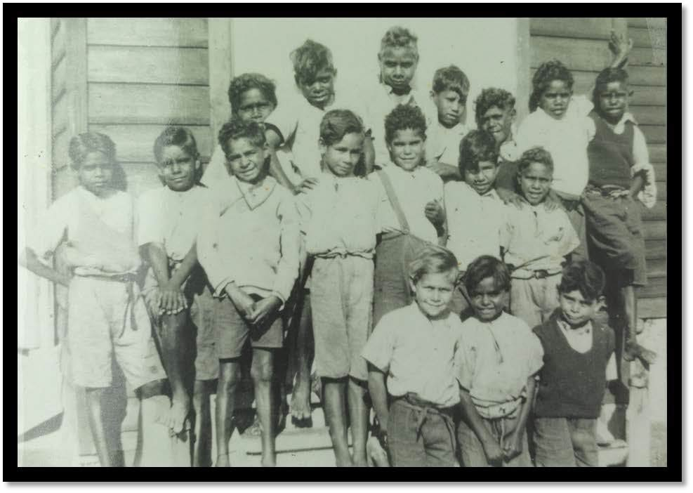 Moore River Native Settlement middle school boys 1939