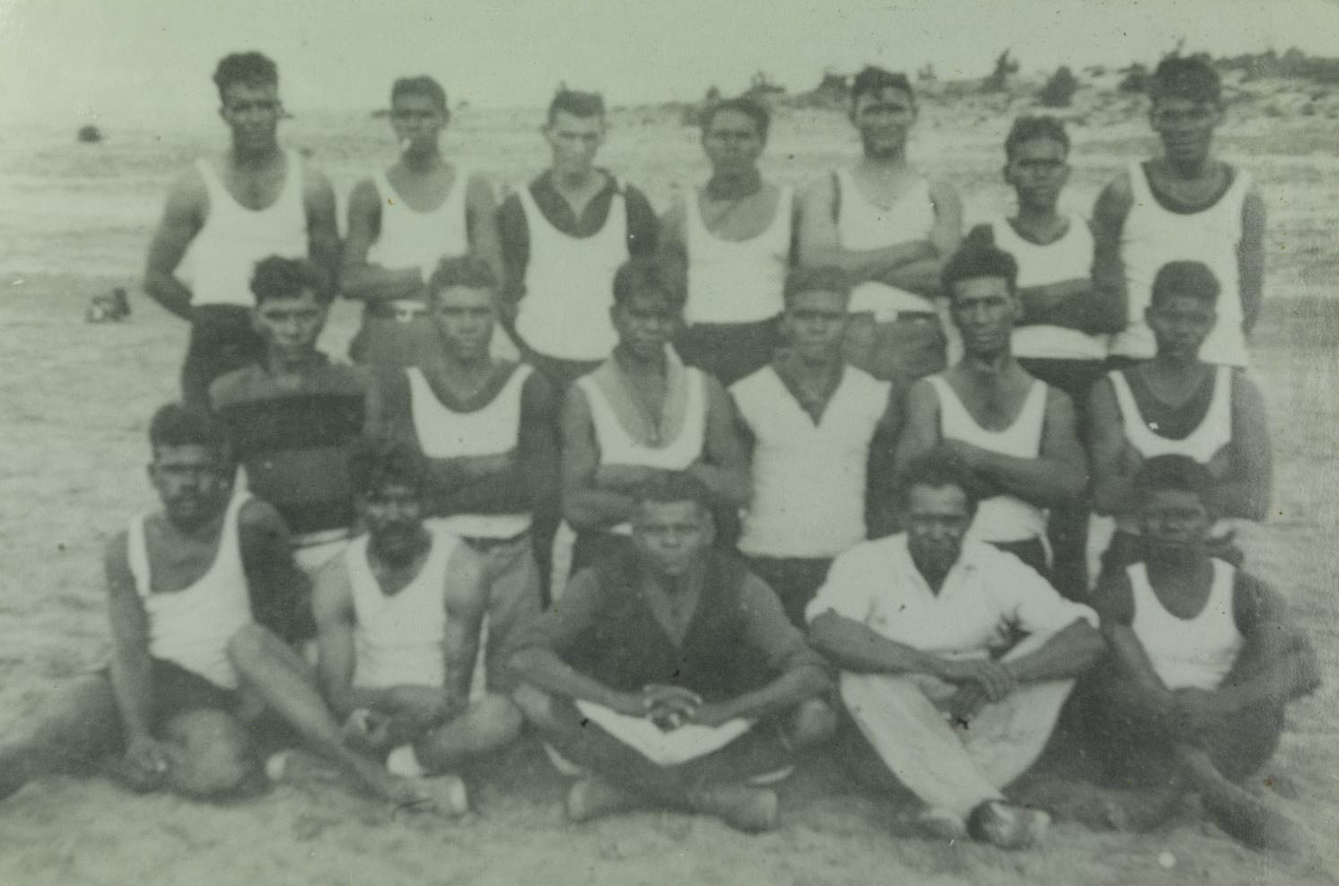 Moore River Native Settlement MRNS Football team 1937