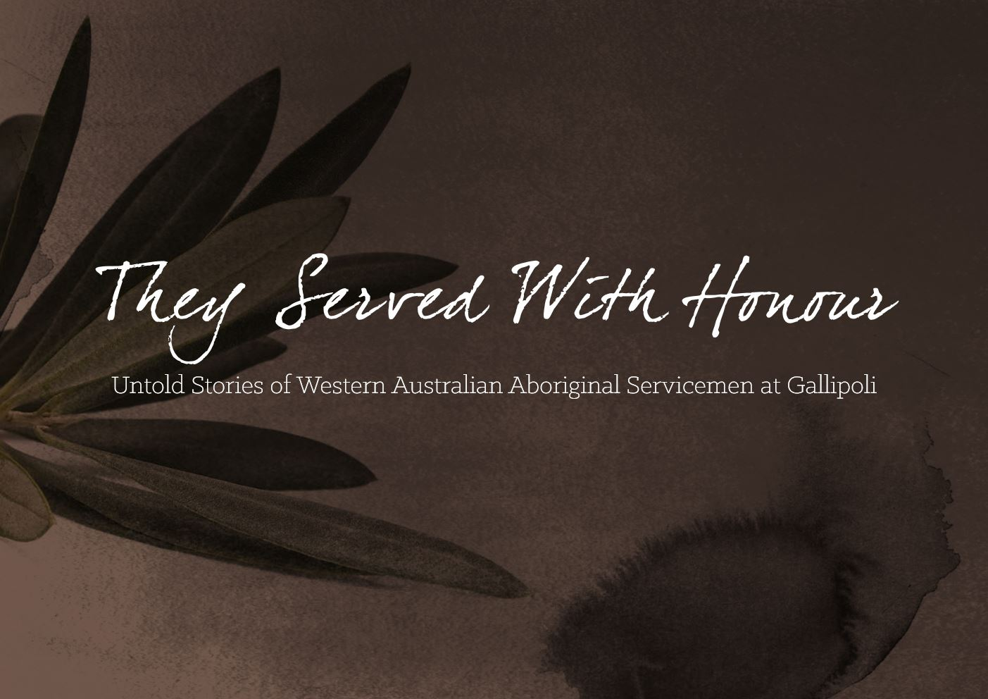 They Served With Honour cover