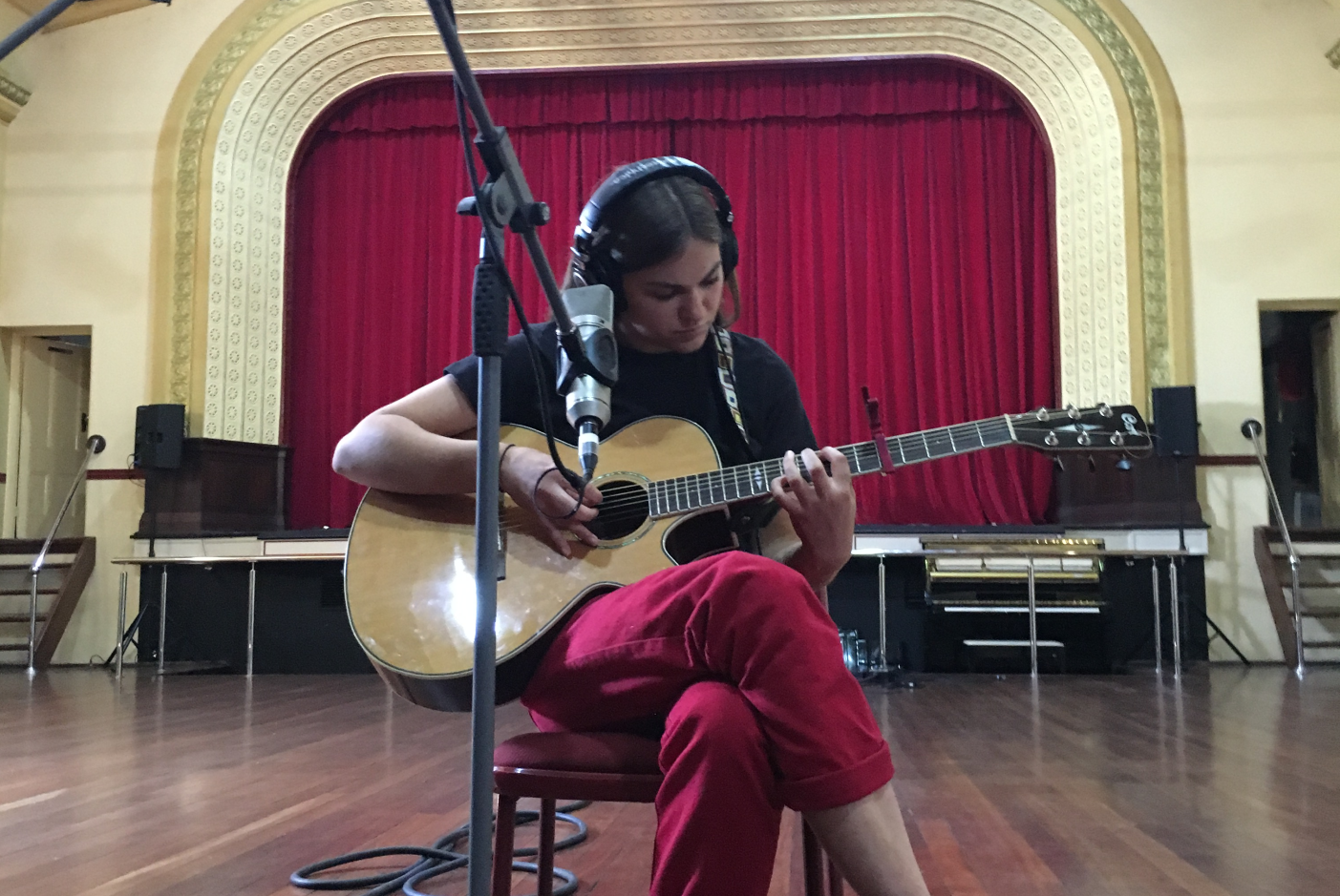 Georgia McAlpine (Demos from The Wheatbelt artist from Buntine), photographed at The Cummins Theatre