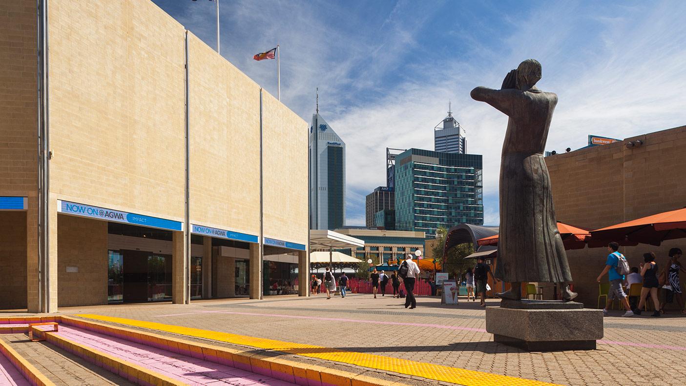 Art Gallery of Western Australia, exterior