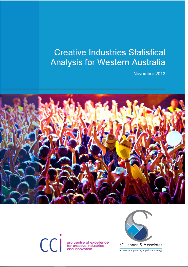 Creative Industries Statistical Analysis report