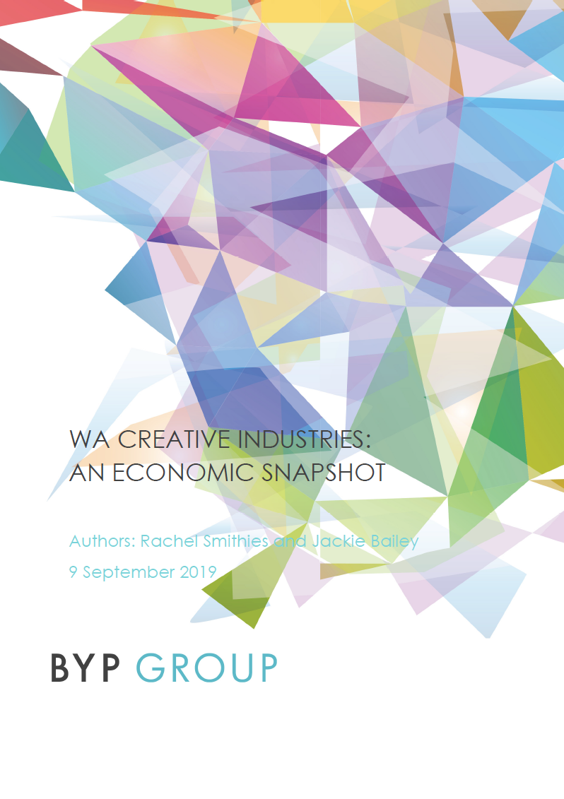 WA Creative Industries: An Economic Snapshot