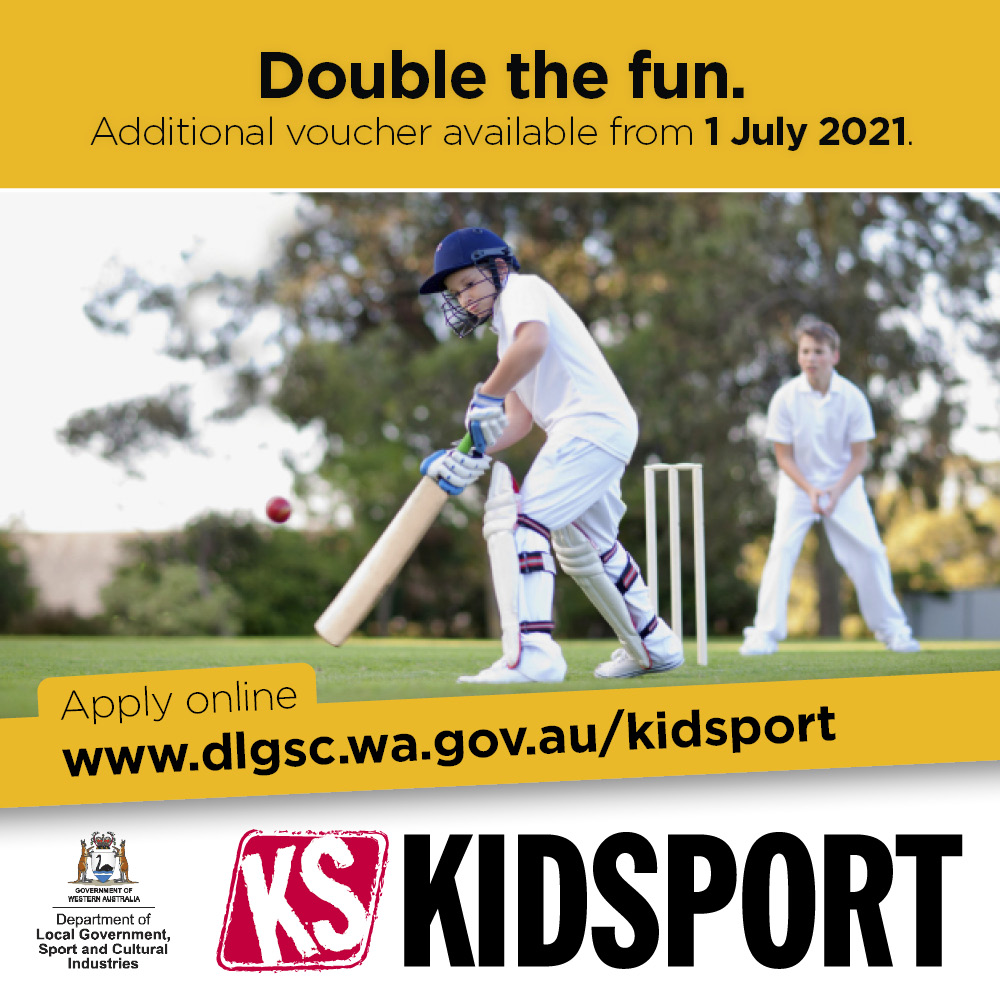 KidSport tile 2nd voucher announcement