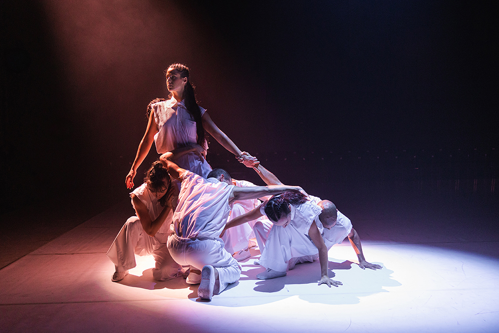 'Structural Dependency' by Brooke Leeder & Dancers, Perth Festival 2021, State Theatre Centre Perth, March 2021. Photo by Mitchell Aldridge.