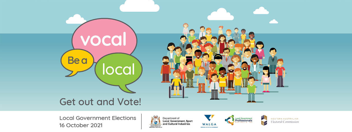 Be a vocal local: get out and vote