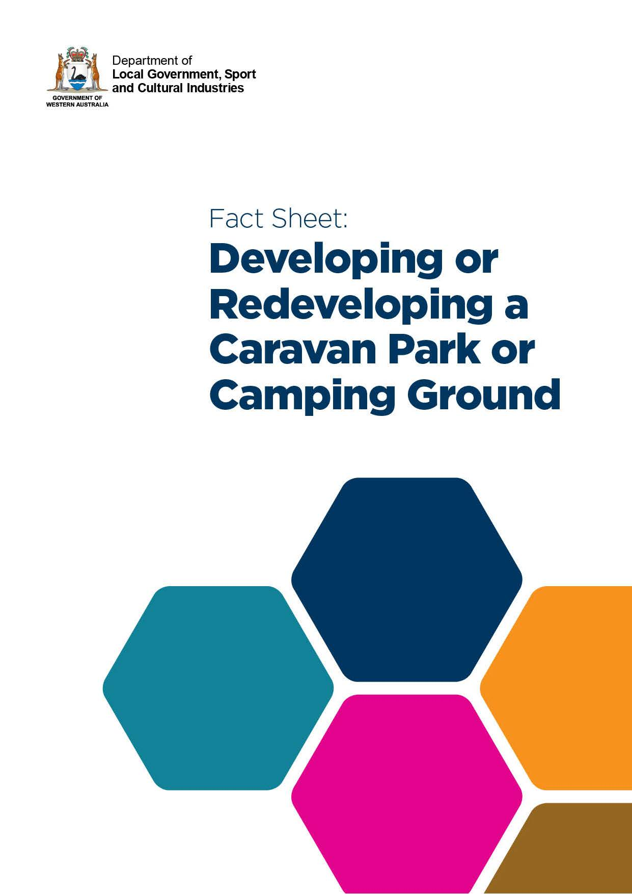 Developing or Redeveloping a Caravan Park or Camping Ground cover