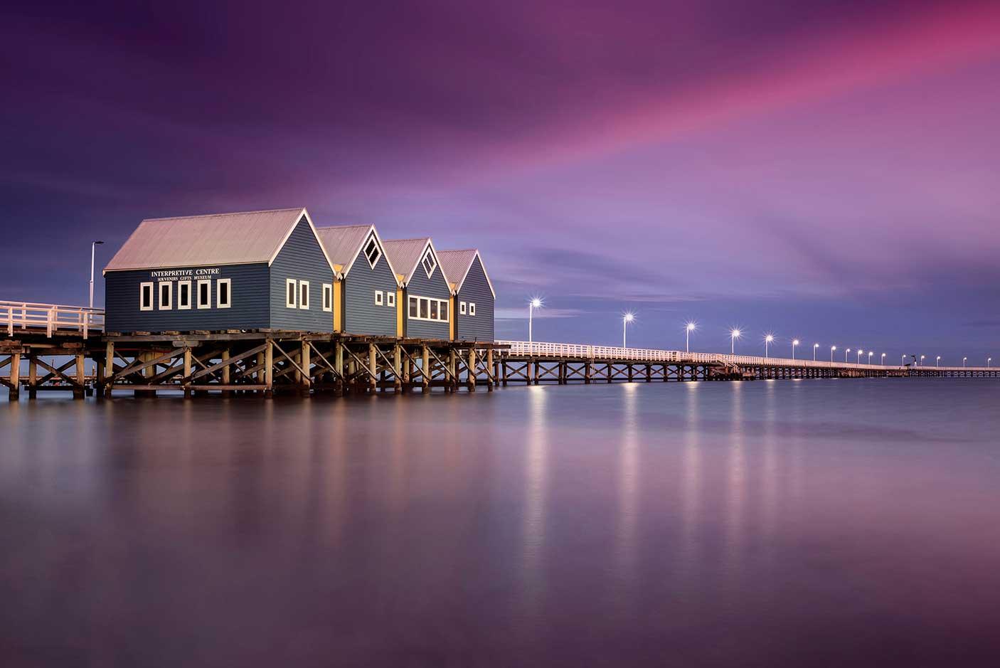 Sunrise at Busselton Jetty, Busselton, Western Australia