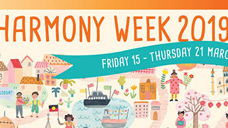 Harmony Week 2019 Friday 15 to Thursday 21 March