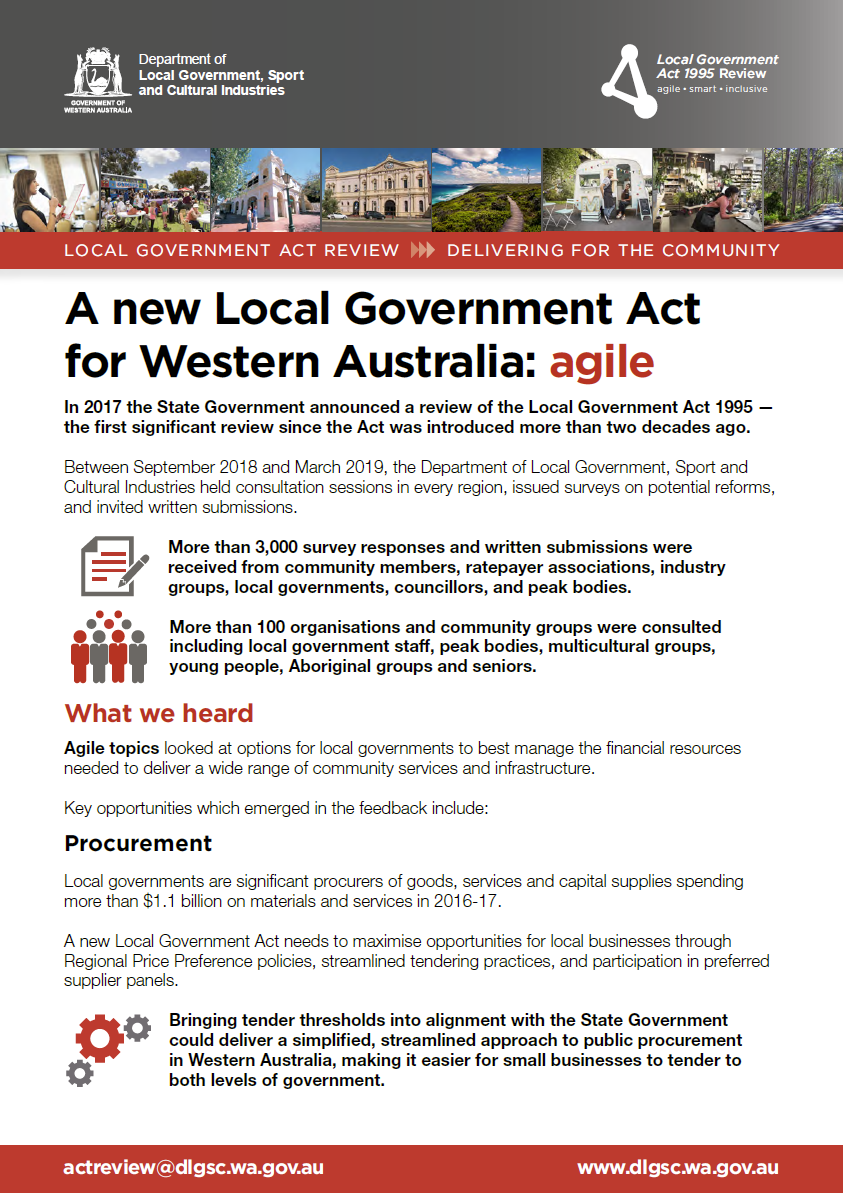 Local Government Act Review Overview - agile