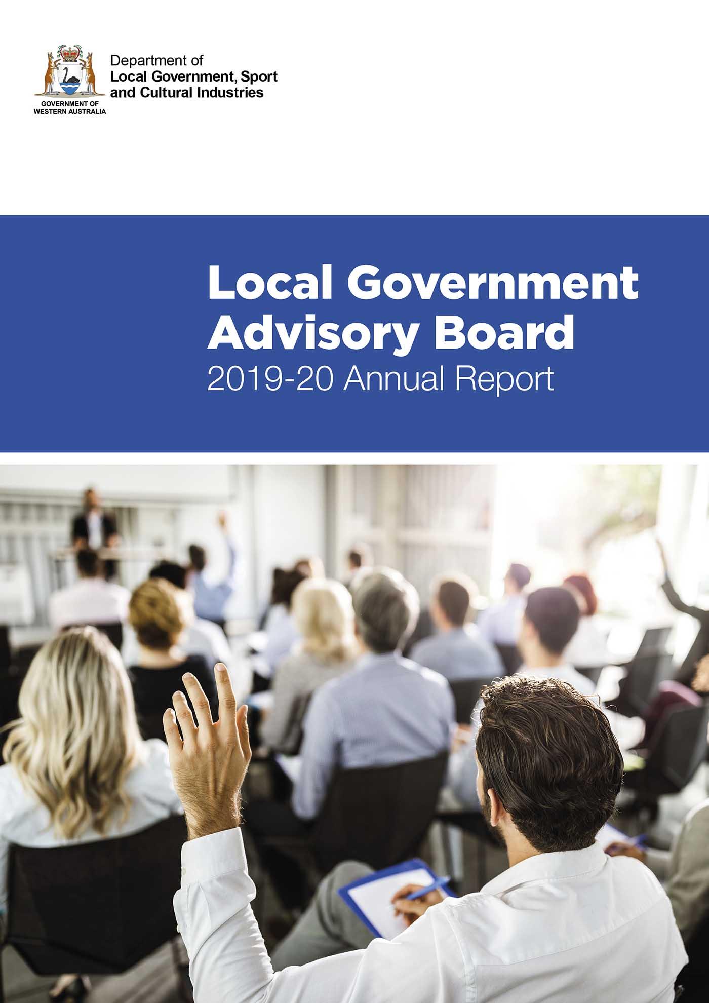 Local Government Advisory Board  Annual Report 2019-20
