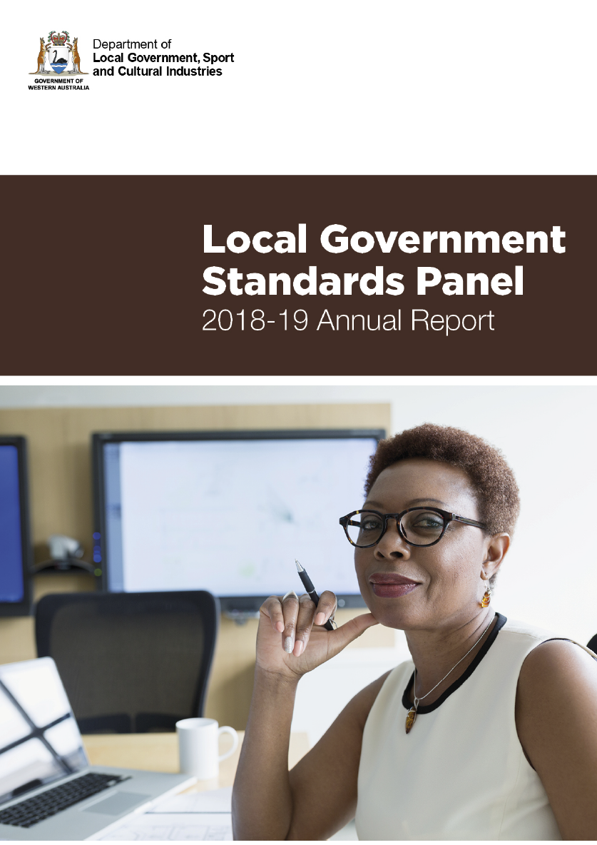 Local Government Standards Panel 2018-19 Annual Report cover