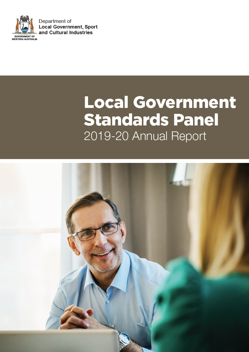 Local Government Standards Panel 2019-20 Annual Report cover