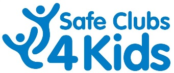 Safe Clubs 4 Kids logo