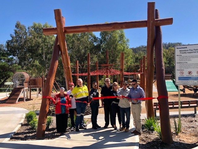 New skate park at Hotham Park