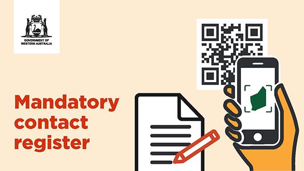 Mandatory contact register