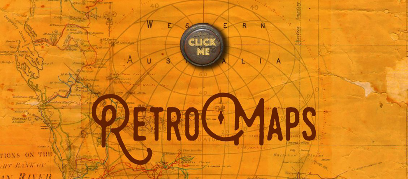 State Records Office of Western Australia Retro Maps website Homepage image