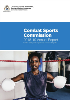 Combat Sports Commission Annual Report 2018-19 cover