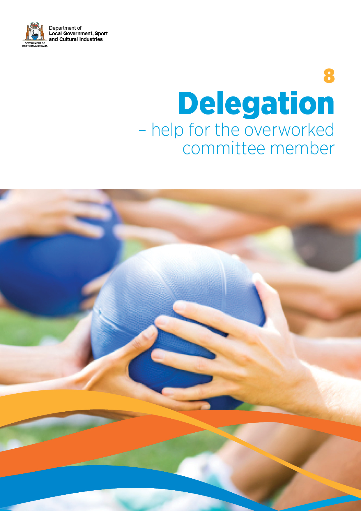 Delegation - Help for the overworked committee member cover