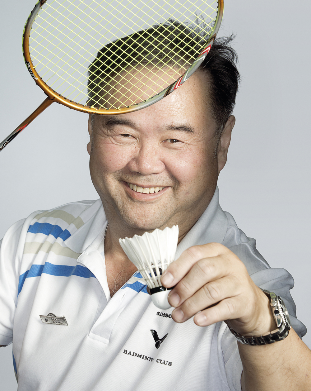 Portrait of Andrew Chai