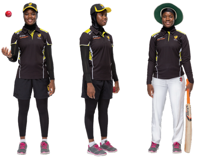 Multicultural Female Uniform Guidelines cricket option b