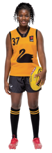 Multicultural Female Uniform Guidelines football (Australia Rules Football) option a