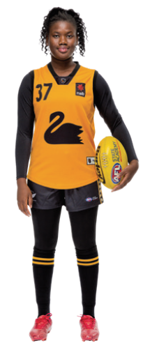 Multicultural Female Uniform Guidelines football (Australia Rules Football) option b