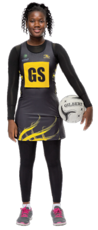 Multicultural Female Uniform Guidelines netball team dress or skirt leggings