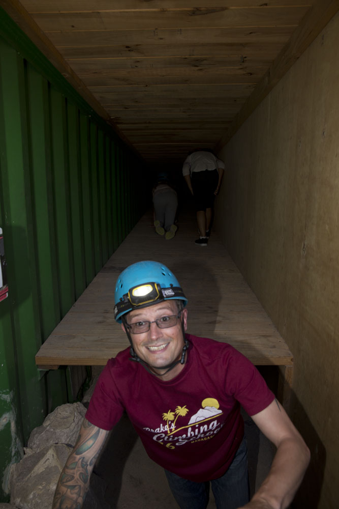 caving-in-the-container