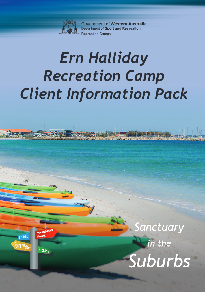 Ern Halliday Client Information Pack cover