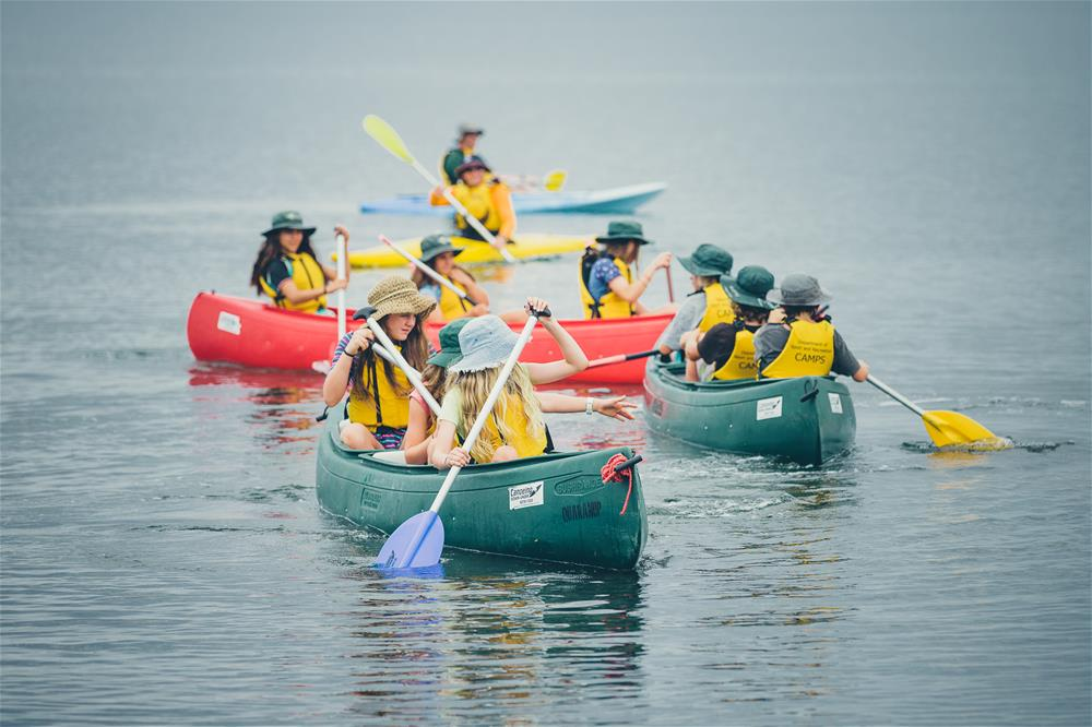 Canoeing on Princess Royal Harbour