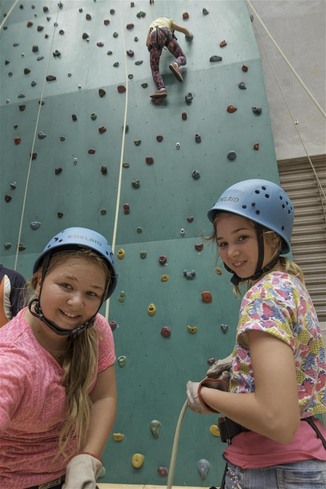 Woodman Point climbing wall