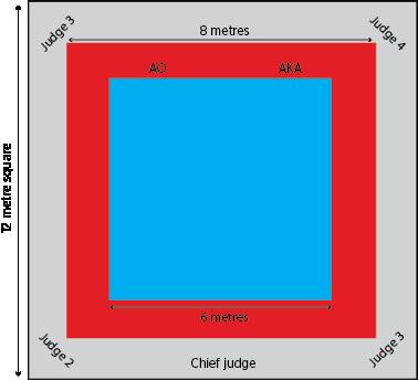 Kata-competition-area