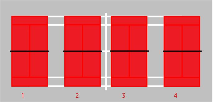 red court dimensions