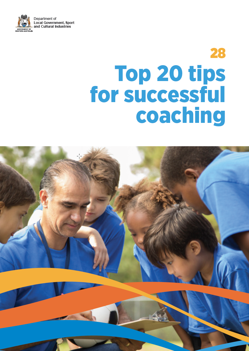 Top 20 tips for successful coaching cover