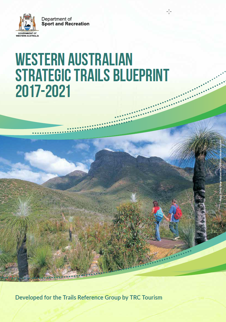 Western Australian Strategic Trails Blueprint cover